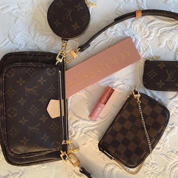 ✨Louis Vuitton Mini Pochette Damier Ebene